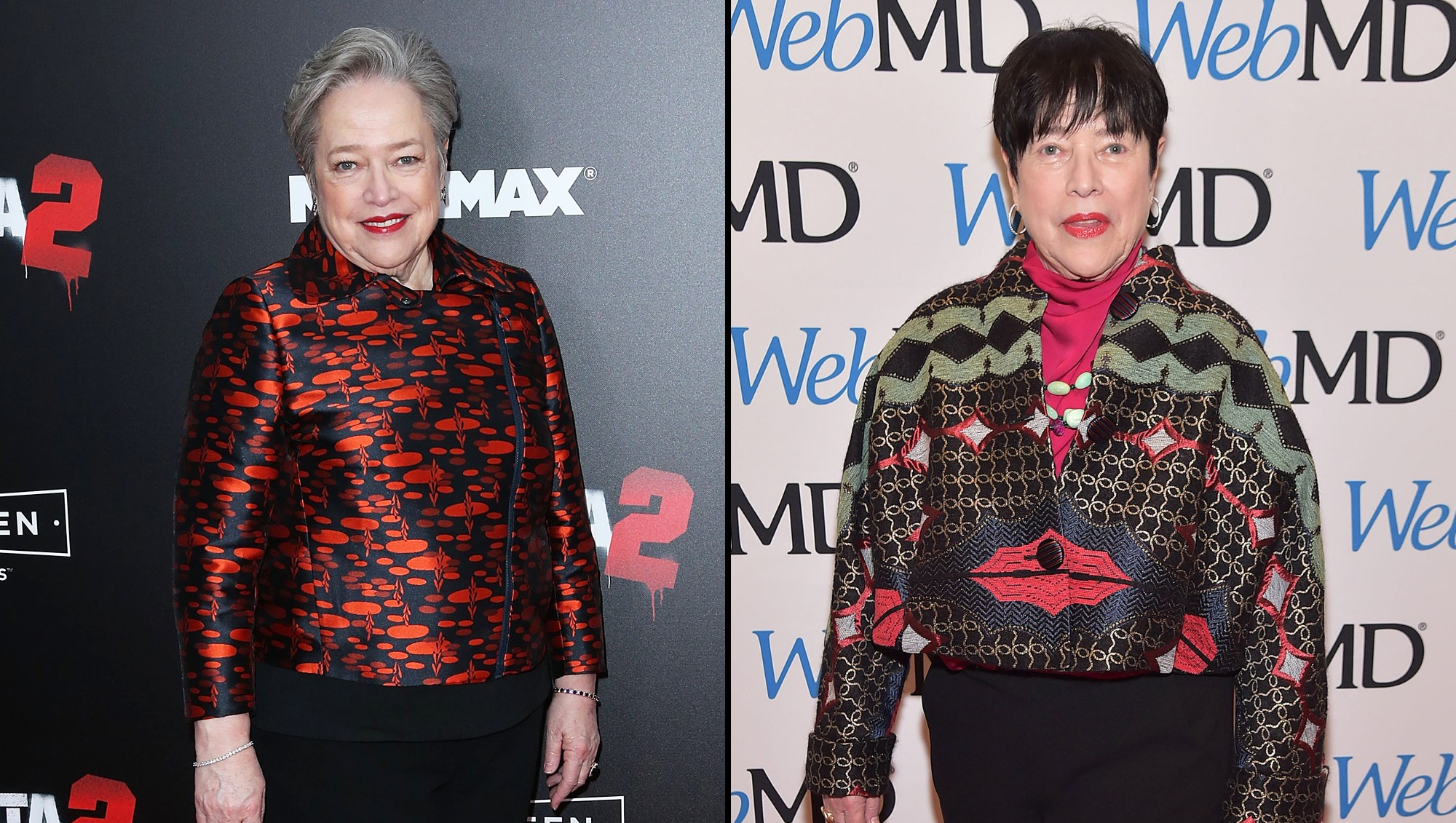 Kathy Bates on Losing 60 Pounds